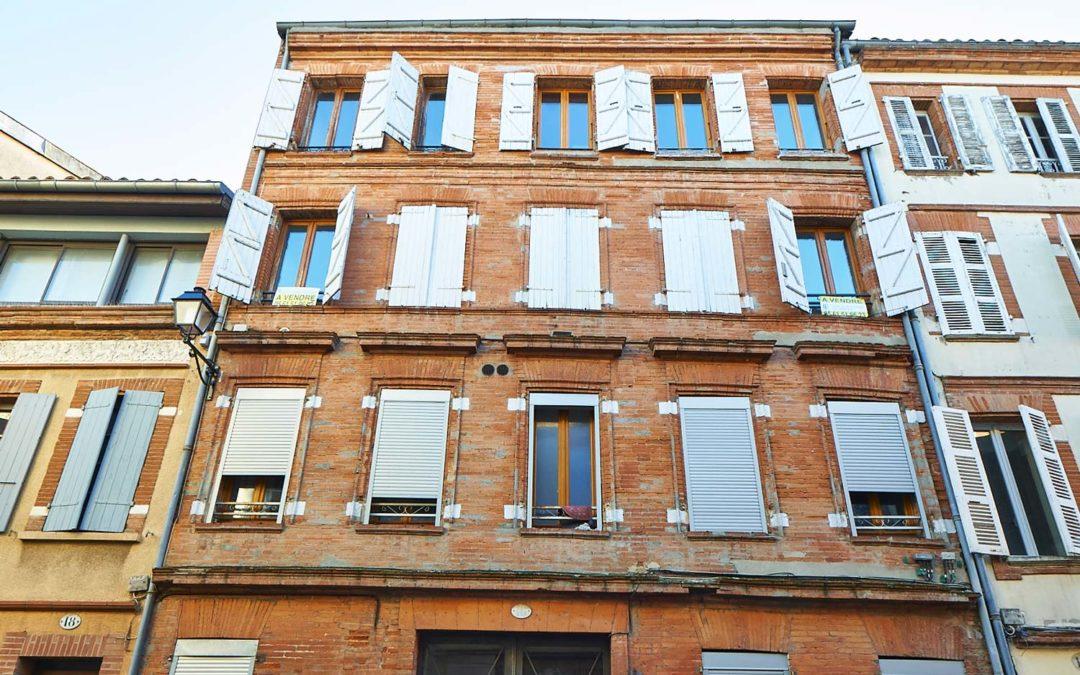 Immeuble 700m2, quartier Saint-Sernin à Toulouse