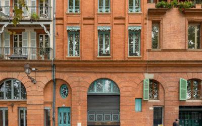 Immeuble d'habitation et commercial de 900m2 quartier Garonne à Toulouse