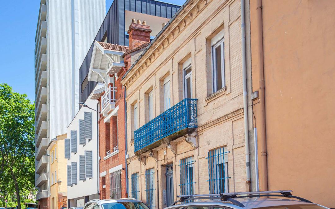 Immeuble d'habitation quartier Busca à Toulouse d'environ 400m2
